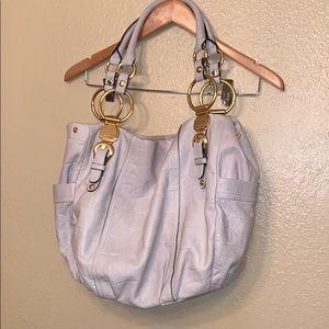B. Makowsky Large Hobo leather bag